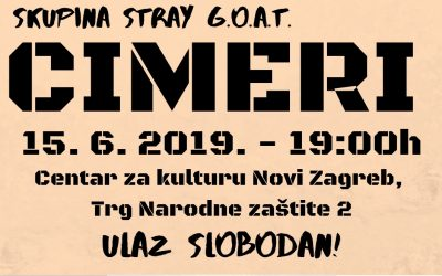 """Cimeri"" – Dramska skupina Stray G.O.A.T"