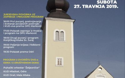 XXXIV. Turopoljsko Jurjevo U Odri, Hrašću I Maloj Mlaki