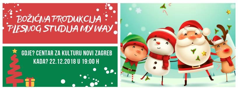 Božićna produkcija Plesnog Studia My Way