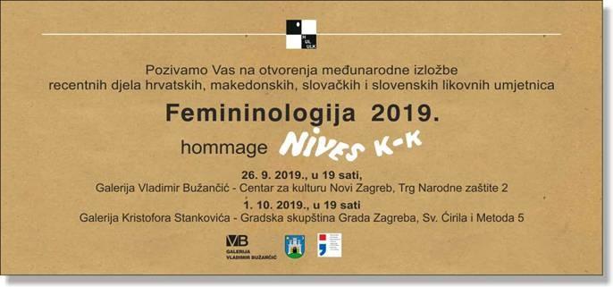 """Otvorenje izložbe """"Femininologija 2019."""""""