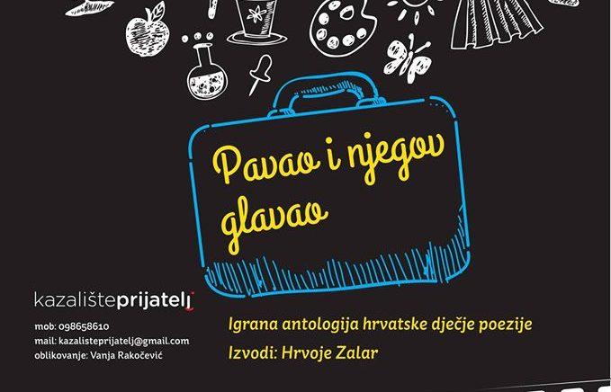 Pavao i njegov glavao, predstava za djecu u CZK Novi Zagreb