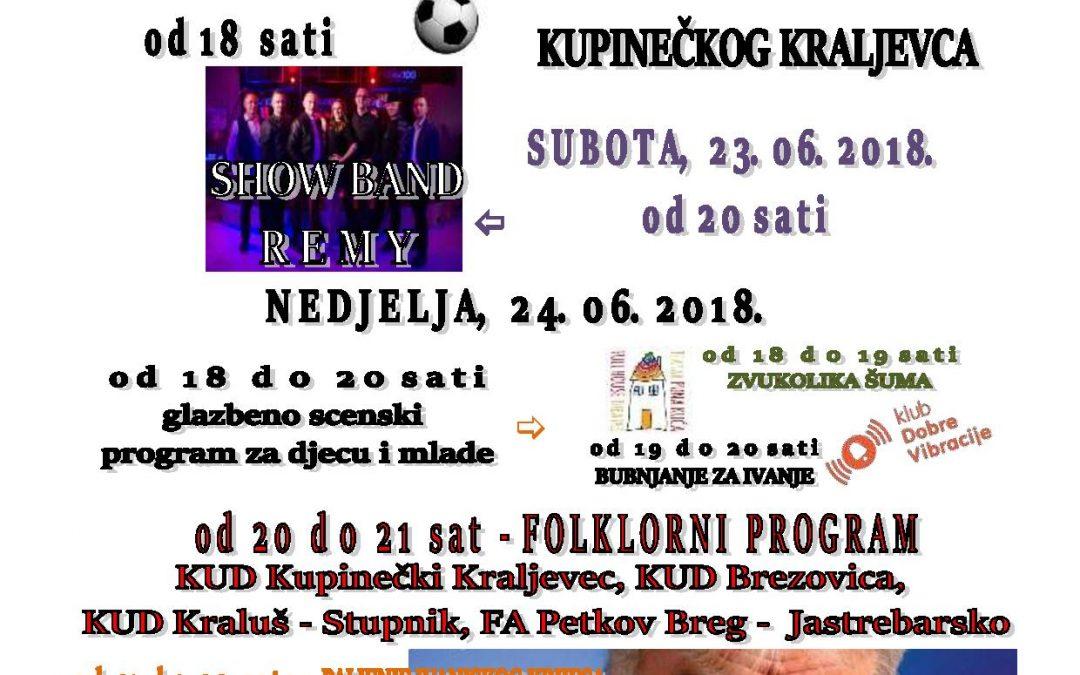 Ivanje u Kupinečkom Kraljevcu 2018