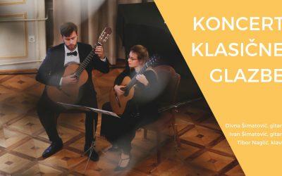 DUO ŠIMATOVIĆ – koncert klasične glazbe