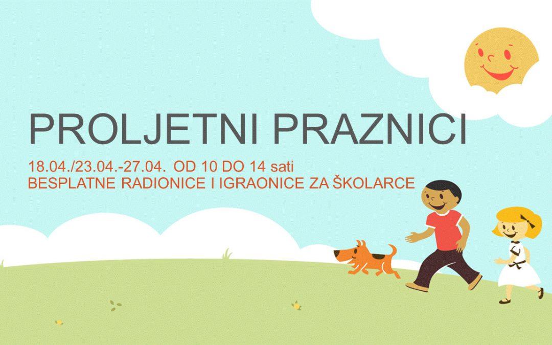 Proljetni praznici 2019 – u CZK Novi Zagreb