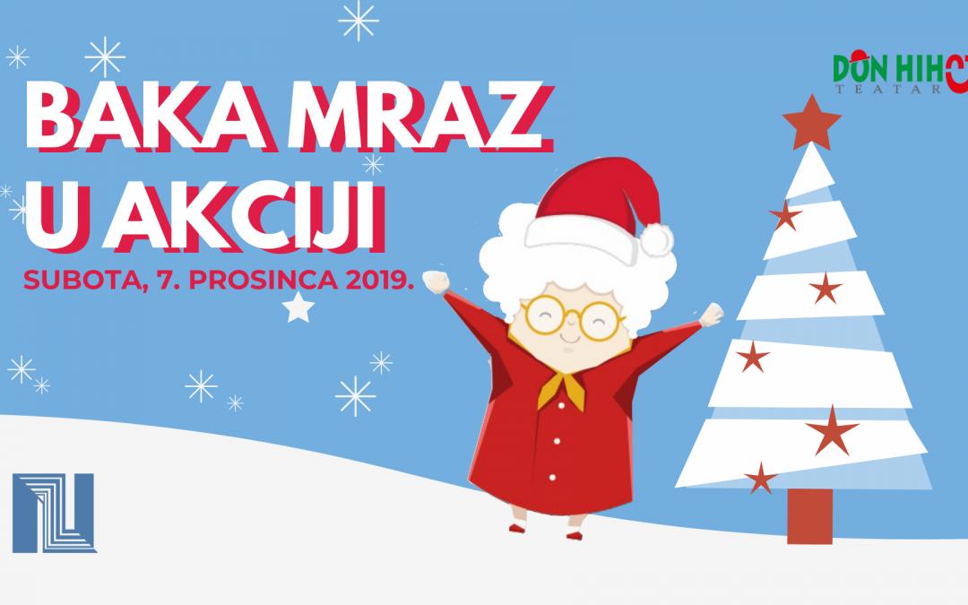 Baka Mraz u akciji – Predstava za djecu