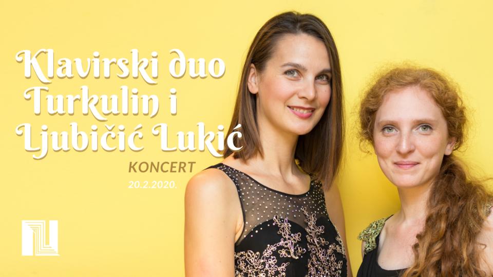 Koncert klavirskog dua Turkulin i Ljubičić Lukić