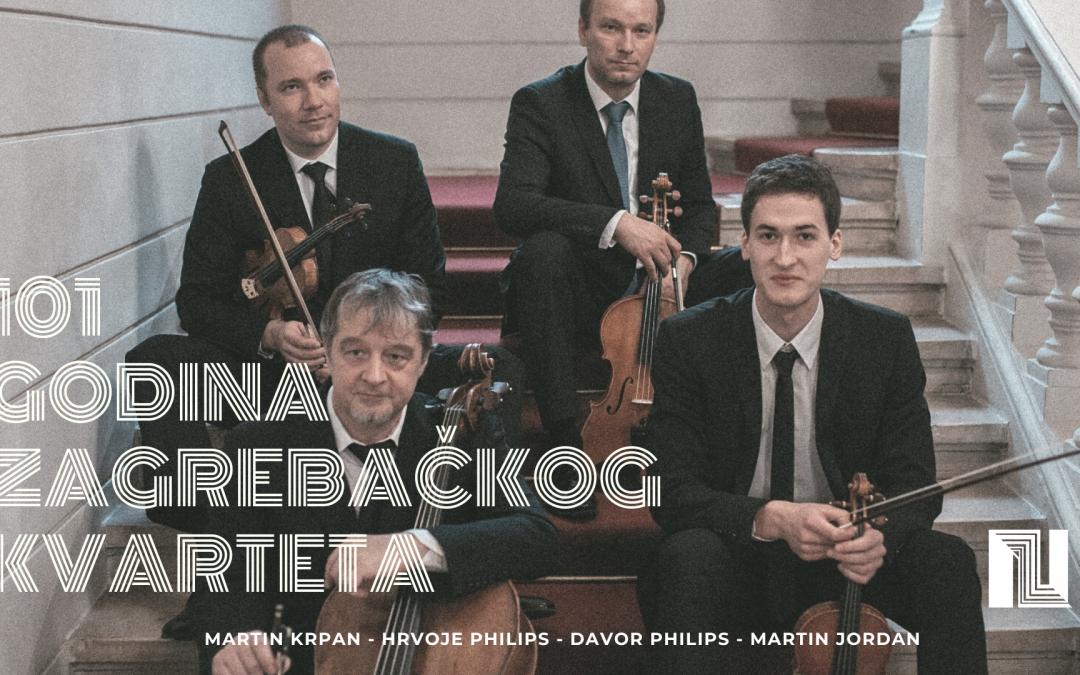 101 godina Zagrebačkog kvarteta – koncert