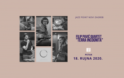 "KONCERT Jazz point Novi Zagreb – Filip Pavić Quartet ""Terra Incognita"""