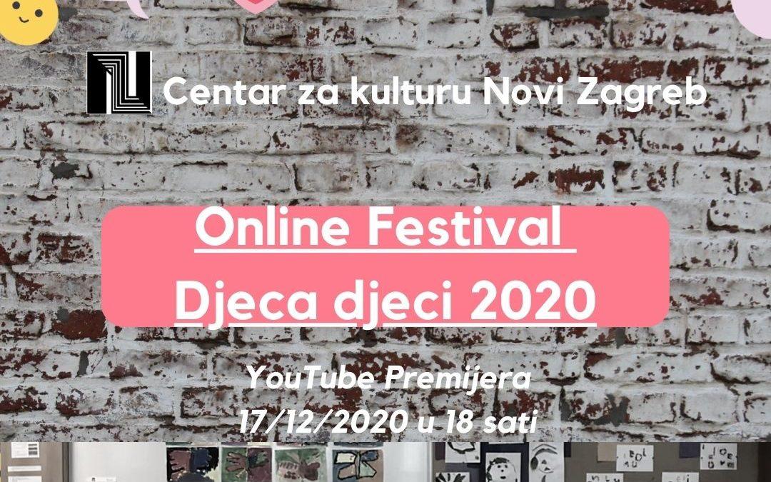 Najava online festivala dječjeg stvaralaštva «DJECA DJECI« 17.12.2020.