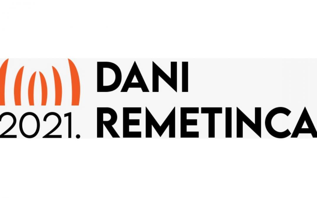 Dani Remetinca 10. – 12. 9. 2021.